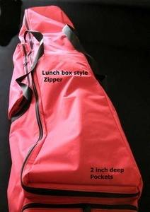 custom duffel bags with zipper on 3 sides